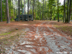 Nf campground rating brick house sumter national forest for Sumter national forest cabins
