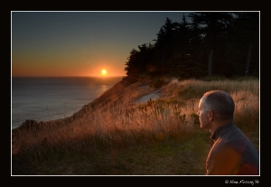 There's nothing quite like a Cape Blanco sunset