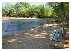 A relaxing river-stop on the Greenbelt
